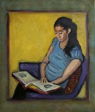 Portrait of Daeene, by Albie Davis.