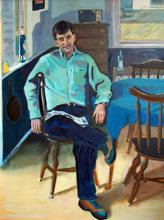Portrait of Fernando, by Albie Davis.