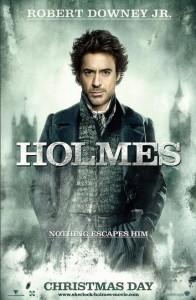 Robert Downey Jr. as Sherlock Holmes.